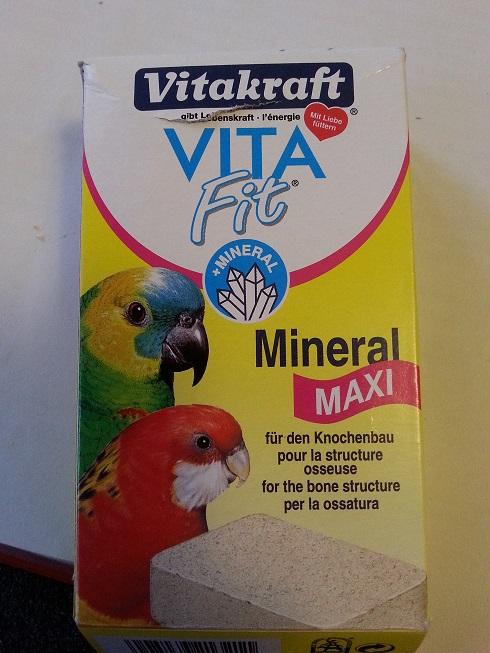 Blocco sali minerali cocorite e pappagallini ondulati - Vitamine per cocorite ...