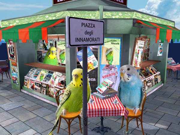 Coco edicola cocorite e pappagallini ondulati - Vitamine per cocorite ...